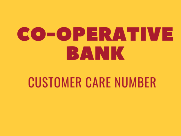co-operative bank customer care number