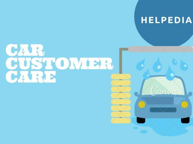 Car Customer Care Number